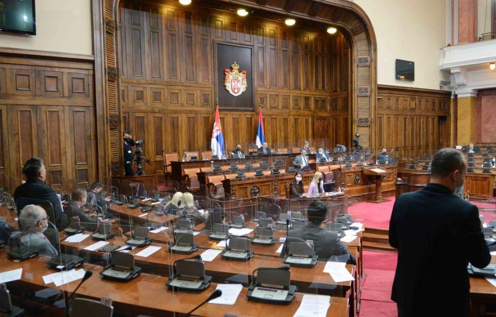 Skupština o kadrovskim rešenjima