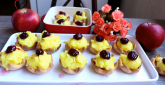 Slatke male korpice sa voćem FOTO