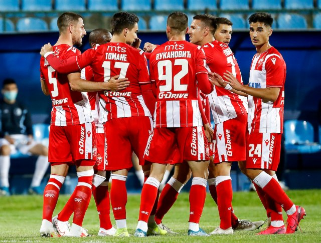 Slavlje fudbalera Crvene zvezde VIDEO
