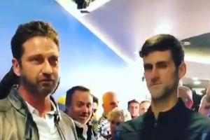 Slavni glumac Novaku čestitao trijumf na US openu! Zajedno su u glas uzviknuli: Ovo je Sparta! (VIDEO)