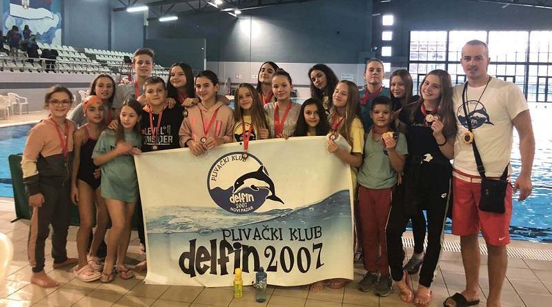 Sloboda open: Delfinima 23 medalje