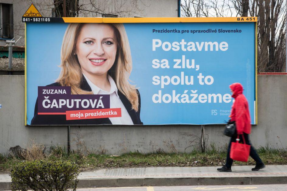 Slovaci danas mogu da dobiju prvu predsednicu države