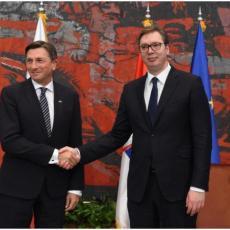 Slovenački predsednik sutra sa Vučićem: Pred Srbijom u nedelju važan susret - stiže Osmanijeva i Đukanović