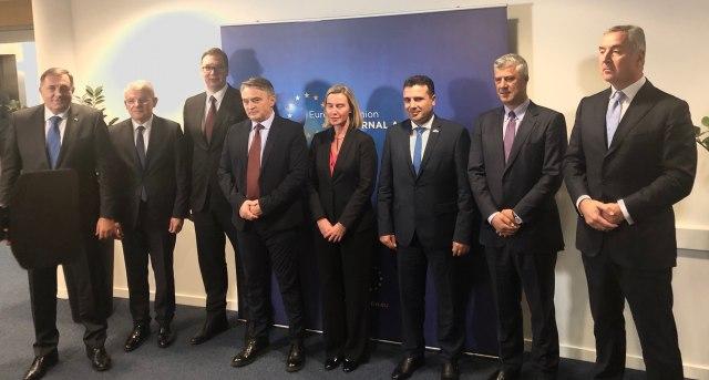 Složno o EU perspektivi, žal zbog Makedonije i Albanije