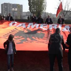 Smejurija u Prištini: Propao marš za ujedinjenje Albanaca s juga Srbije sa lažnom državom Kosovom (VIDEO)