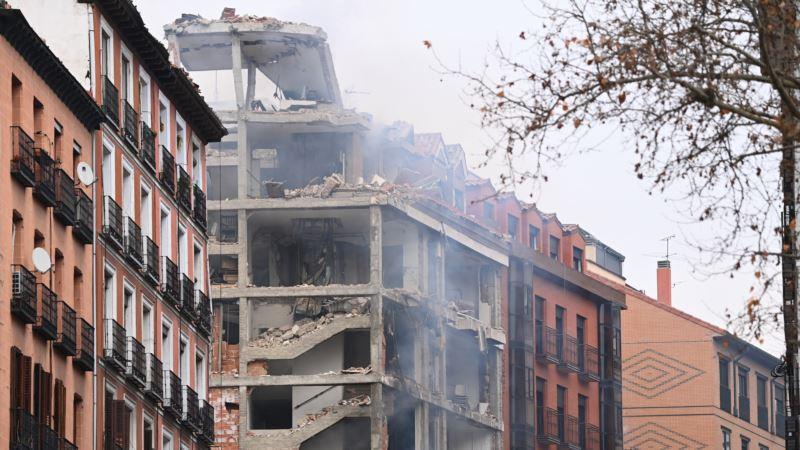 Snažna eksplozija u centru Madrida