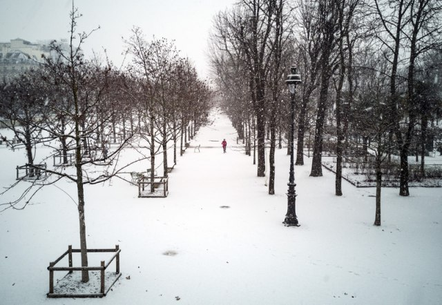 Sneg paralisao deo Francuske: Jedna osoba poginula, 300.000 bez struje VIDEO