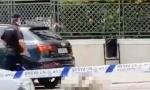 Snimak sa mesta egzekucije: Crnogorac izrešetan iz automatskog oružja dok je čekao da pređe ulicu (VIDEO)