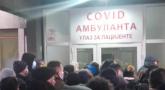 Snimci ispred kovid ambulanti: Velike gužve dovele do prepirki; Ljudi su očajni, osoblje umorno VIDEO/FOTO