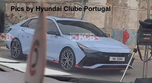 Snimljen Hyundai Elantra N