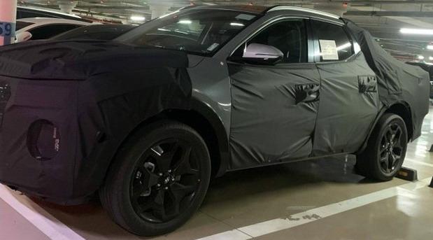 Snimljen Hyundai pick-up