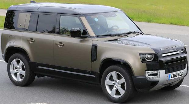 Snimljen Land Rover Defender sa V8 motorom