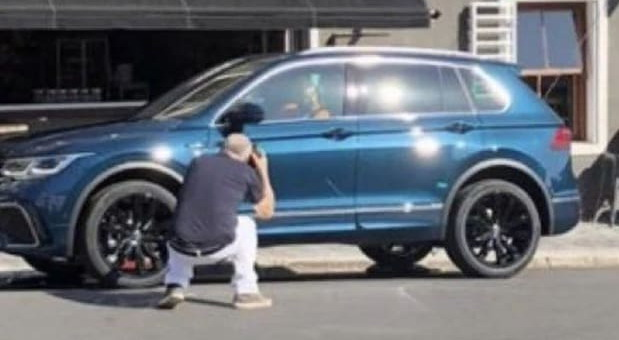 Snimljen Volkswagen Tiguan facelift