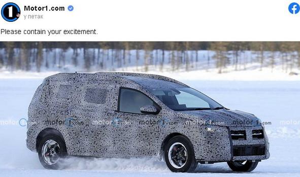 Snimljen novi Dacia Logan karavan