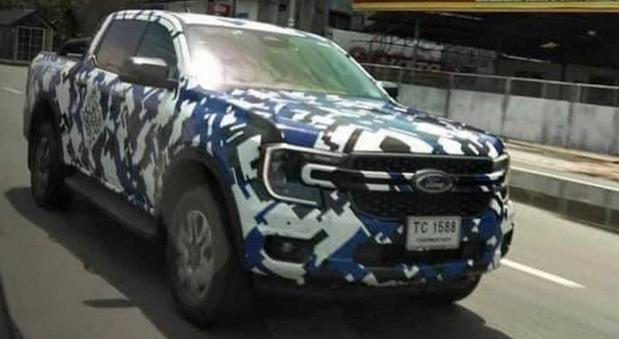 Snimljen novi Ford Ranger
