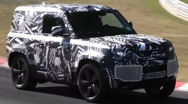 Snimljen novi Land Rover Defender