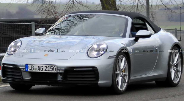 Snimljen novi Porsche 911 Cabrio