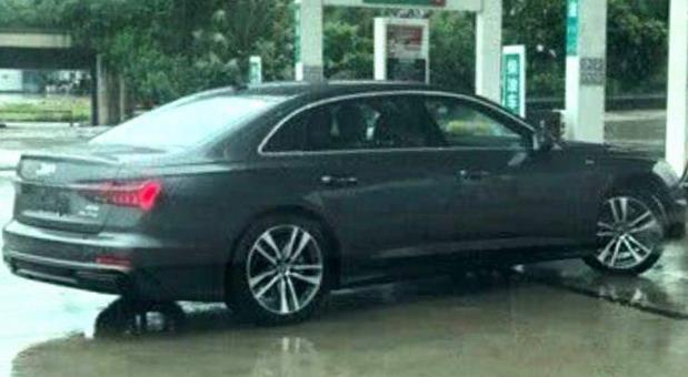 Snimljen produženi Audi A6L za Kinu