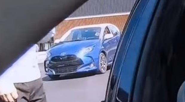 Snimljena nova Toyota Yaris