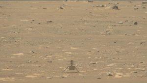 Snimljeni zvuci Nasinog helikoptera na Marsu