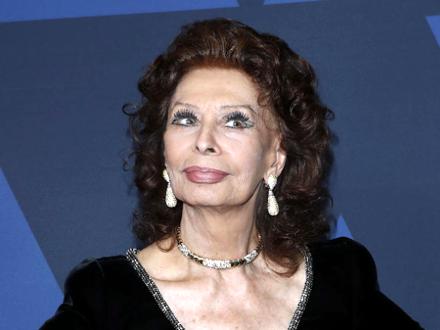 Sofija Loren nagrađena u 86. godini za ulogu u filmu Život