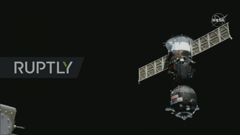 """""""Sojuz"""" pristao na Međunarodnu kosmičku stanicu"""