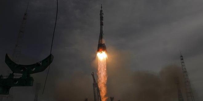 Sojuz se prizemljio u Kazahstanu