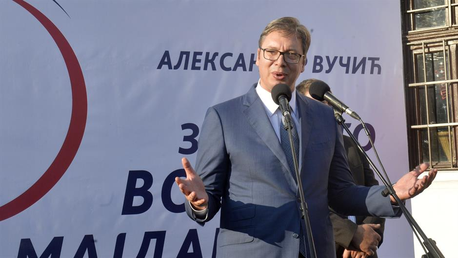 Solve Kosovo problem once and for all, Vucic says
