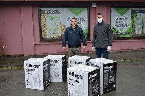 Sombor: Donacija leđnih prskalica za potrebe dezinfekcije