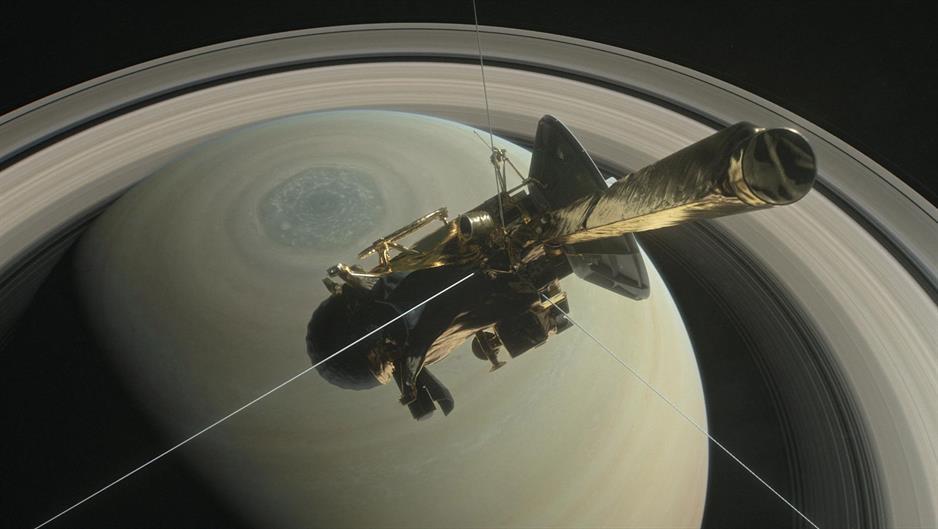 Sonda Kasini završava misiju na Saturnu