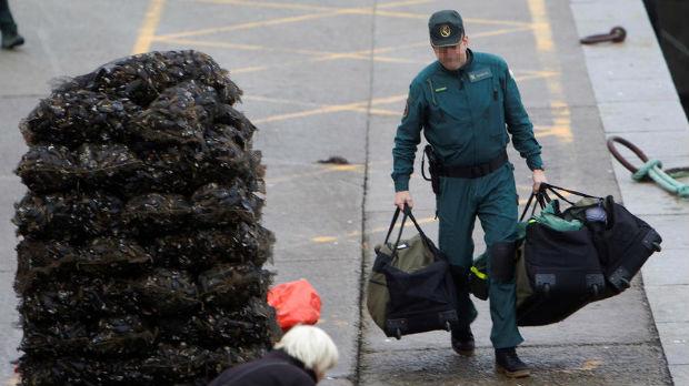 Španci presreli podmornicu, zaplenjene tri tone kokaina