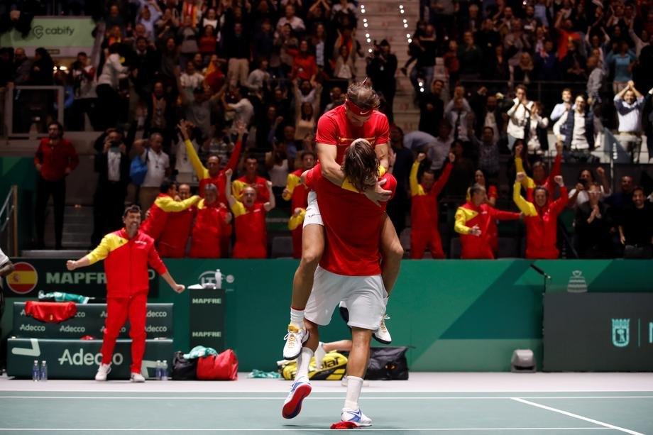 Španija osvojila Dejvis kup