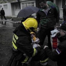 Spasio bebu iz kandži vatre, a sada čeka da je upozna: Heroj Stefan objavio šta se dešavalo nakon požara