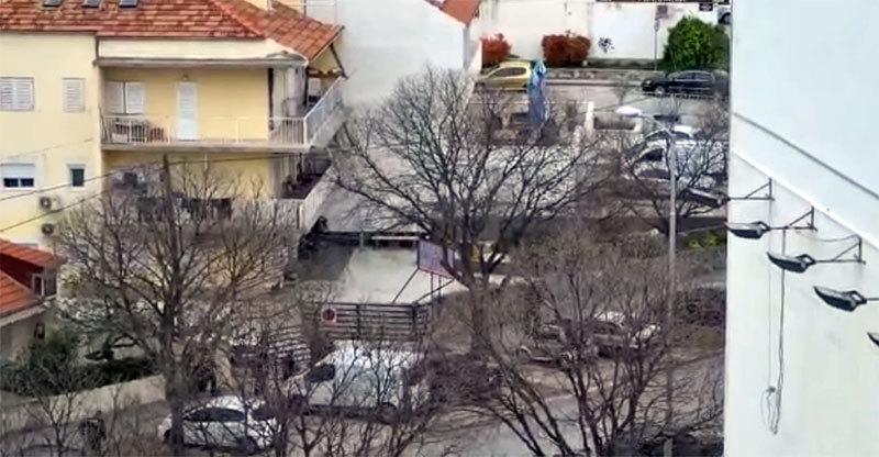 Split: Nosio dva noža, jurilo ga deset policajaca