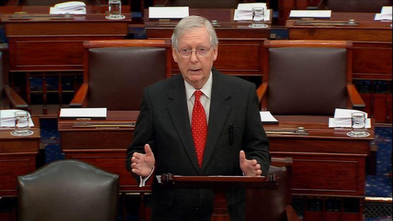 Spor u Senatu o pravilima suđenja Trampu