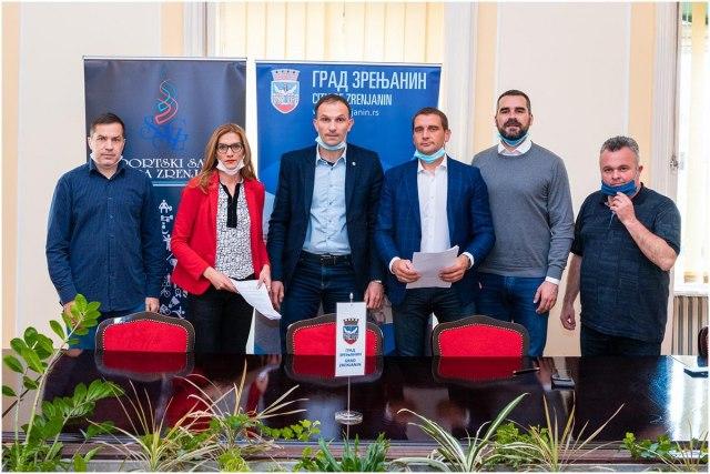 Sportska saradnja Beograda i Zrenjanina