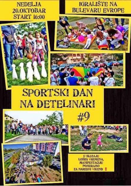 Sportski dan na Detelinari osmi put