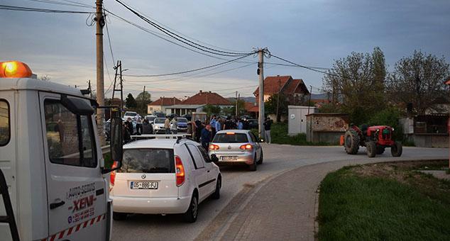 Srbi centralnog Kosova na Vaskrs ceo dan bez struje i vode, usledila spontana blokada puta! (FOTO)