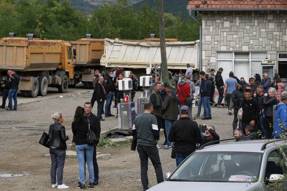 Srbi sa Kosova i Metohije deveti dan protestuju