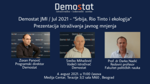 Srbija, Rio Tinto i ekologija