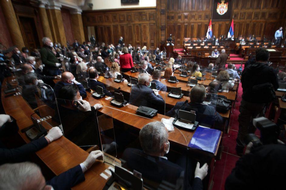 Konstituisan novi saziv narodne Skupštine, poslanici položili zakletvu