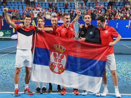 Srbija dobila teške protivnike na ATP kupu