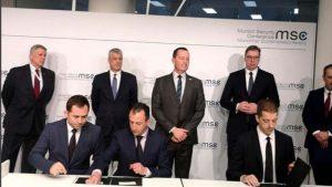 Srbija i Kosovo potpisali sporazume o železničkoj vezi i auto-putu Beograd-Priština