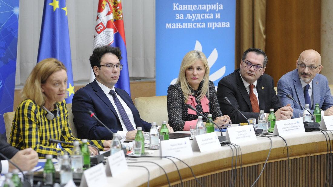 Srbija ostvarila napredak u poštovanju ljudskih prava