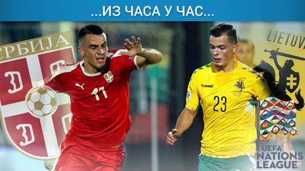 Orlovi ubedljivi protiv Litvanije, Srbija u B diviziji