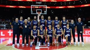 Srbija ubedljiva protiv Angole na početku Mundobasketa