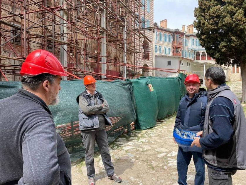 Srbija uplatila celokupna sredstva za obnovu manastira Hilandar