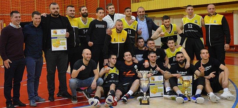 Srbobranski košarkaši sledeće sezone u Prvoj ligi Vojvodine