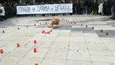 Srce za Davida: Protesti podrške u Beogradu i nekoliko gradova BiH