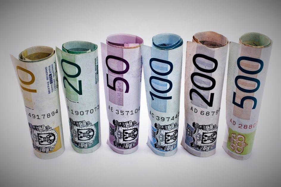 Srednji kurs dinara 117,5799 za evro